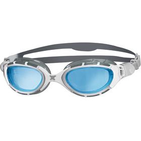 Zoggs Predator Flex Svømmebriller grå/hvid